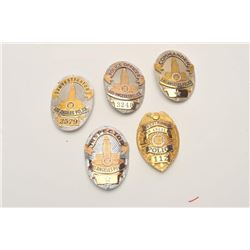 18DC-141 BADGE LOT