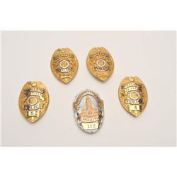 18DC-143 BADGE LOT