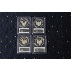 18DG-1 U.S. SILVER DOLLAR EAGLES