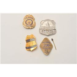 18DC-76A BADGE LOT