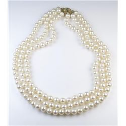 18CAI-33 PEARL NECKLACE