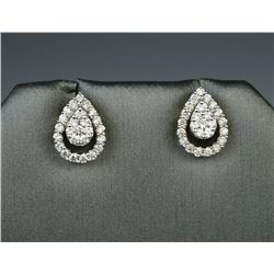 18CAI-45 DIAMOND EARRINGS