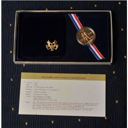 18FW-4 1984D OLYMPIC COIN