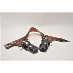 18FX-2 FANCY WESTERN STYLE HOLSTER RIG