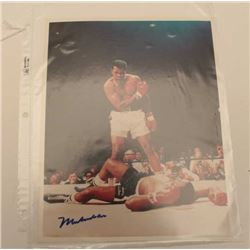 18DG-6 MUHAMMED ALI SIGNED PHOTO