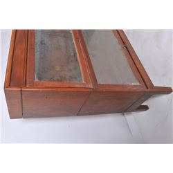 18DH-29 TWO PART LAWYER BOOKCASE