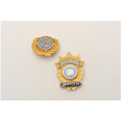 18DC-48 2 U.N. BADGES