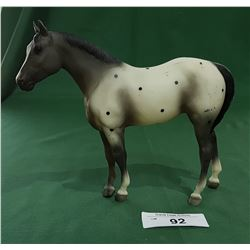 COLLECTIBLE BREYER APPALOOSA HORSE FIGURE