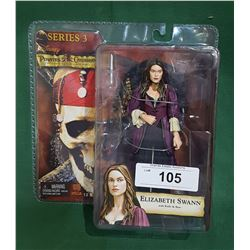 PIRATES OF THE CARIBBEAN ELIZABETH SWAN ACTION FIGURE