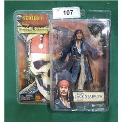 PIRATES OF THE CARIBBEAN JACK SPARROW ACTION FIGURE SERIES 1