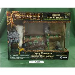 "PIRATES OF THE CARIBBEAN FLYING DUTCHMAN ""SMOKE"" BLAST CANNON"
