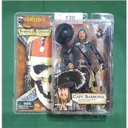 PIRATES OF THE CARIBBEAN BARBOSA ACTION FIGURE
