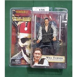 PIRATES OF THE CARIBBEAN WILL TURNER ACTION FIGURE