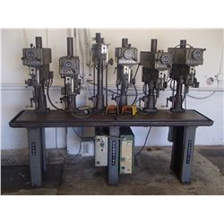 Clausing 6 Gang Drill Press, M/N: 1668