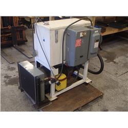 Baldor/Vickers 30HP Hydraulic Pump Unit