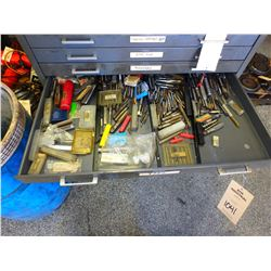 Large Lot of Misc Taps **All Contents in Drawer**