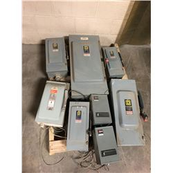 Lot of (7) Safety Switches
