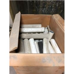 "Tote of PVC Pipe 4"" x 22.5"""