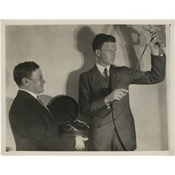 Charles Lindbergh publicity photograph.