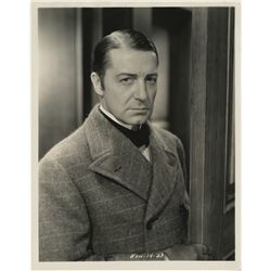 """Sherlock Holmes"" (22) photographs of Clive Brook, Basil Rathbone, and Peter Cushing."
