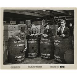 The Marx Brothers (75+) reissue photographs from Monkey Business.