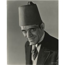 Boris Karloff (3) portrait photographs.