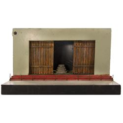Willis O'Brien designed miniature theater stage concept for a proposed King Kong museum attraction.