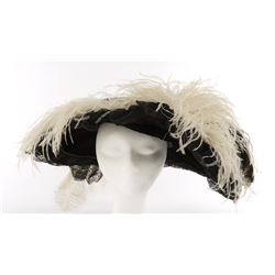 "Mae West ""Ruby Carter"" hat from Belle of the Nineties."