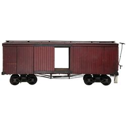 Train car miniature from Gone With the Wind.