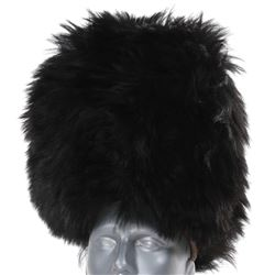 """""""Winkie Guard"""" bear fur hat from The Wizard of Oz."""