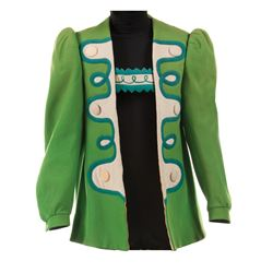 Emerald City townsman jacket from The Wizard of Oz.