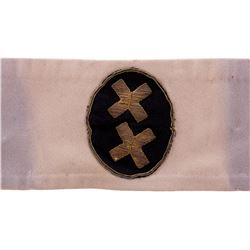 """""""Hynkel"""" regime armband from The Great Dictator."""