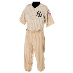 "Gary Cooper ""Lou Gehrig"" New York Yankees baseball uniform from The Pride of the Yankees."