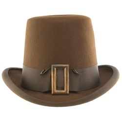 "Tyrone Power ""Benjamin Blake"" flattop hat from Son of Fury: The Story of Benjamin Blake."