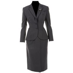 """Merle Oberon """"Ruby"""" skirt suit from Temptation."""