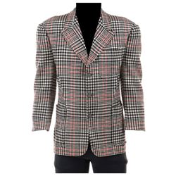 "Mickey Rooney ""Andy Hardy"" plaid jacket from Love Laughs at Andy Hardy."