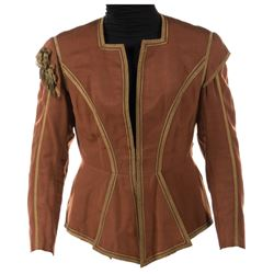 "Errol Flynn ""Don Juan de Marana"" brown tunic from Adventures of Don Juan."