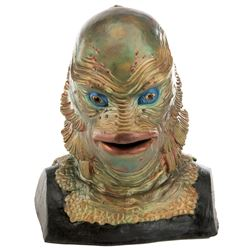 """Gill Man"" bust from The Creature from the Black Lagoon."