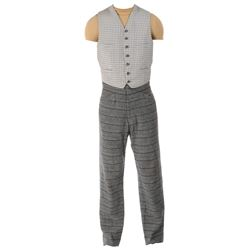 "Montgomery Clift ""John Wickliff Shawnessy"" vest and pants from Raintree County."