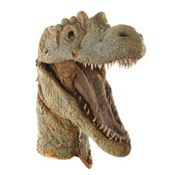 Animatronic dinosaur head from The Land Unknown.