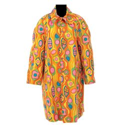 Goldie Hawn psychedelic coat from Rowan & Martin's Laugh-In.