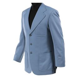 "Jack Lord ""Steve McGarrett"" blue jacket from Hawaii Five-O."