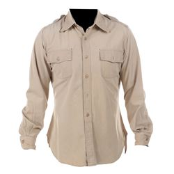 "Dennis Weaver ""Sam McCloud"" police uniform shirt from McCloud."