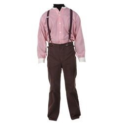"""Michael Landon """"Charles Ingalls"""" costume from Little House on the Prairie."""
