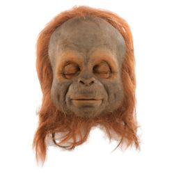 """Philip Paley """"Cha-Ka"""" mask from Land of the Lost."""
