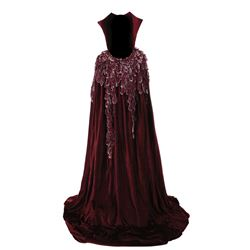 """Dick Durock """"Imperious Leader"""" robe from Battlestar Galactica."""