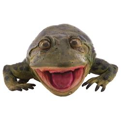 """""""Weis"""" animatronic Frog from Budweiser commercial."""