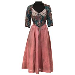 """Lesley-Anne Down """"Esmeralda"""" costume from The Hunchback of Notre Dame."""