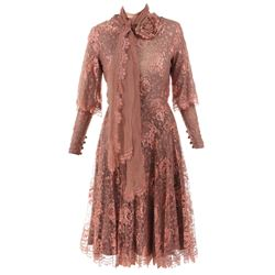 """Bette Davis """"Carrie Louise Serrocold"""" costume from Murder with Mirrors."""