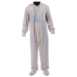 """Bruce Willis """"David Addison Jr."""" adult sized baby onesie and pacifier from Moonlighting."""